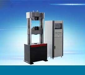 WE-1000D(四立柱)液晶显示液压万能试验机